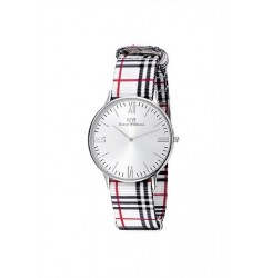 HARRY WILLIAMS Multicolor Fabric Strap HW-2402L/02