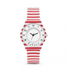 Παιδικό Ρολόι COLORI Funtime Two Tone Rubber Strap