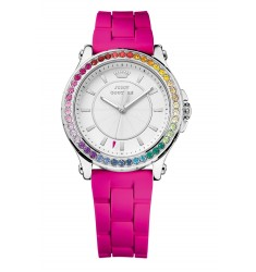 Juicy Couture Crystals Fuchsia Silicon Strap 1901277
