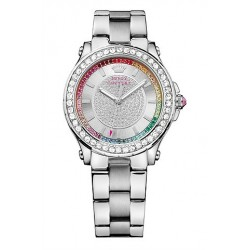 Juicy Couture Pedigree Crystals Stainless Steel Bracelet