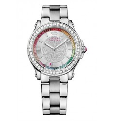 Juicy Couture Pedigree Crystals Stainless Steel Bracelet 1901237
