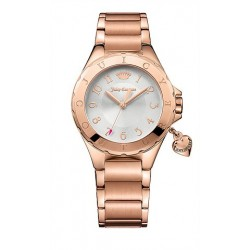 JUICY COUTURE Rio Crystals Rose Gold Stainless Steel Bracelet
